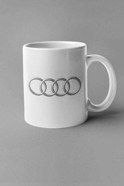 Šálka s logom auta Audi