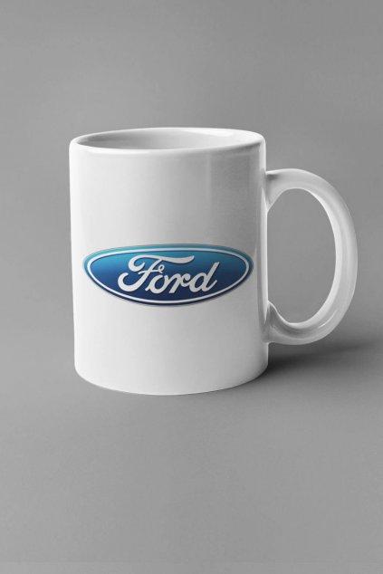Šálka s logom auta Ford