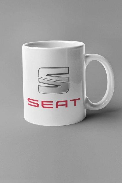 Šálka s logom auta Seat