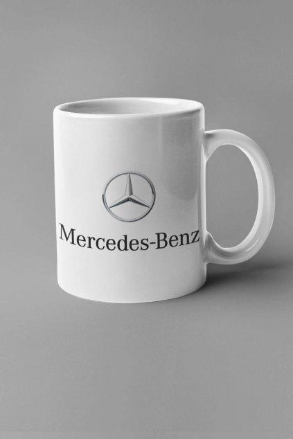 Šálka s logom auta Mercedes Benz