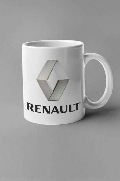 Šálka s logom auta Renault