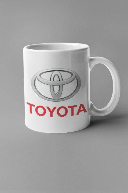 Šálka s logom auta Toyota
