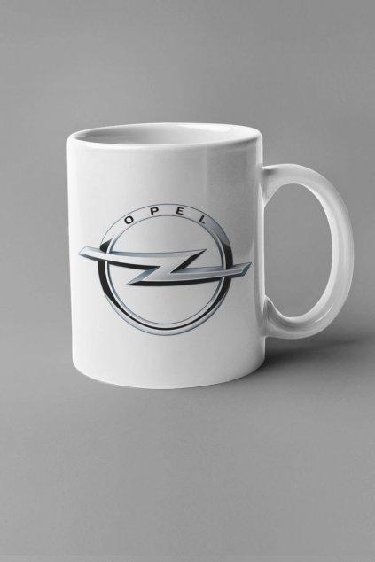 Šálka s logom auta Opel