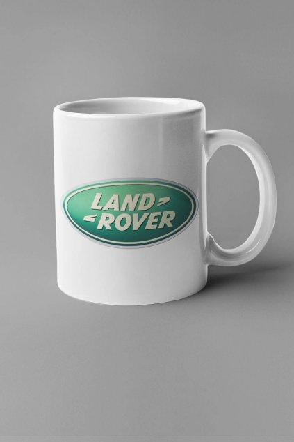Šálka s logom auta Land Rover