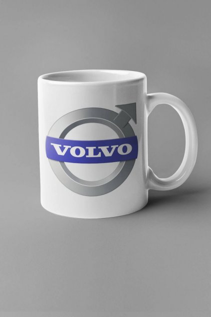 Šálka s logom auta Volvo