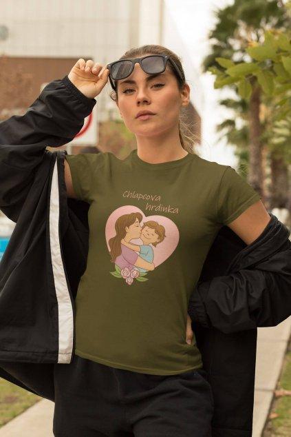 Tričko pre mamu Chlapcova hrdinka