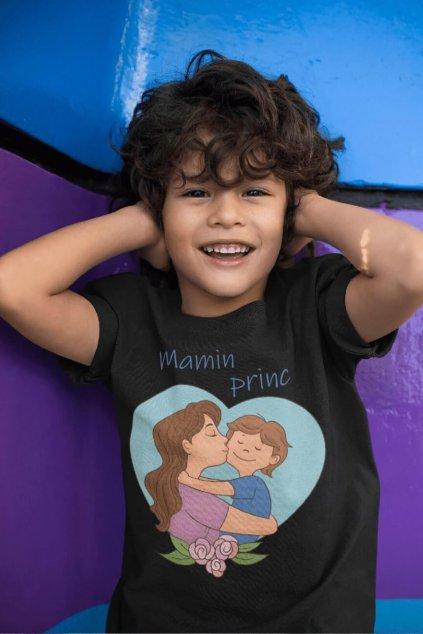 Tričko pre syna Mamin princ