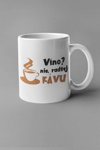Šálka radšej kávu