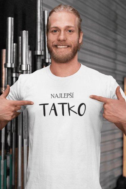 AKCIA Pánske tričko Najlepší tatko