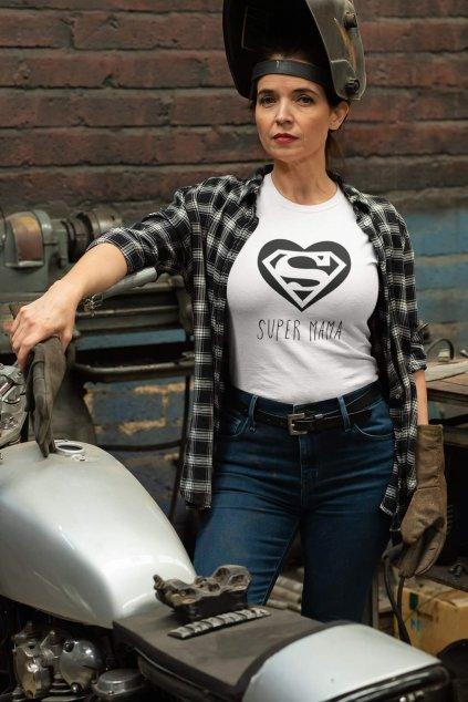 Dámske tričko Super Mama