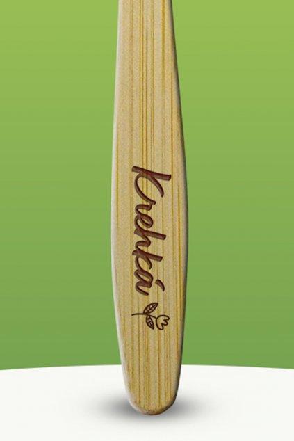 Bambusová kefka Krehká