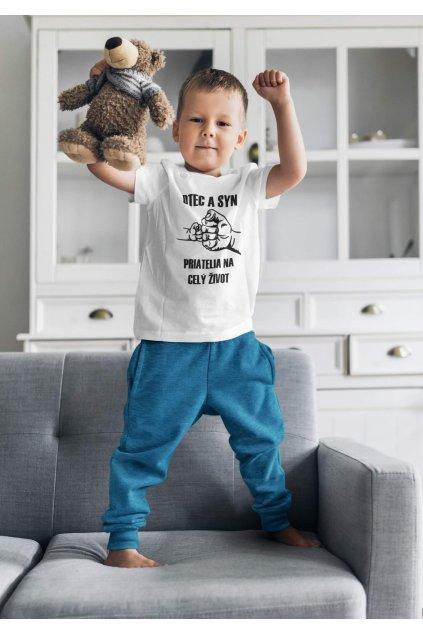 Detské tričko pre syna Otec a syn