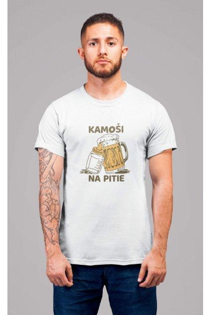 Pánske tričko Kamoši na pitie