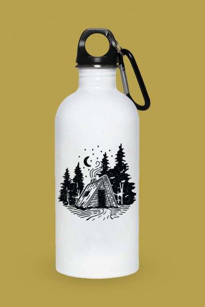 Turistická fľaška Chatka