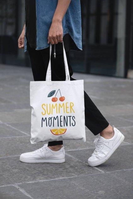 Bavlnená taška Summer moments