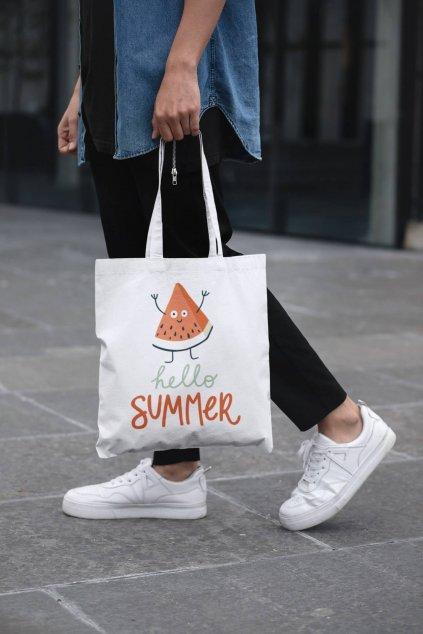 Bavlnená taška Hello summer