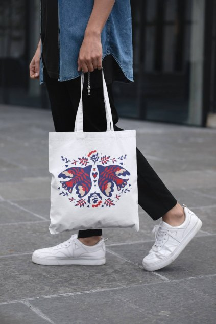 Bavlnená taška Lastovičky