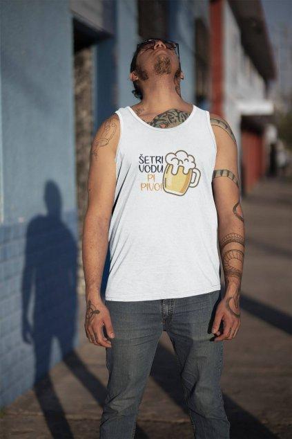 tank top mockup of a tattooed man on a street 32808a (3)