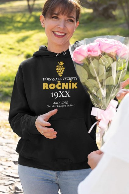 hoodie mockup of a woman receiving flowers for mother s day 32658 (4)