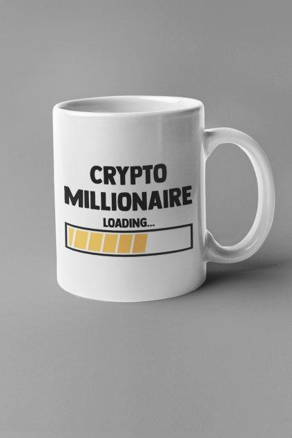Šálka Crypto millionaire