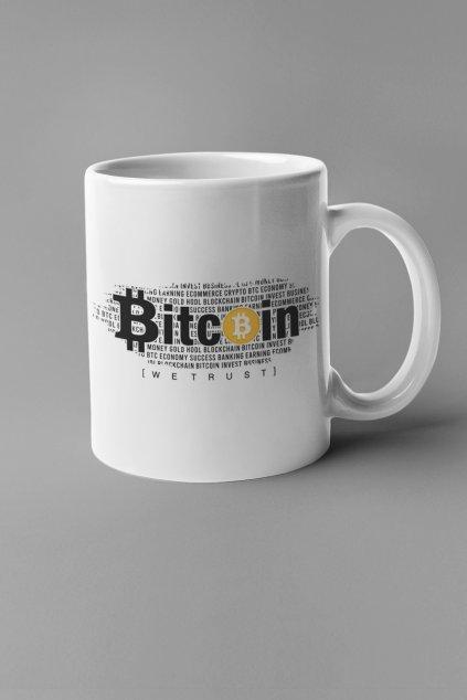 Šálka Bitcoin