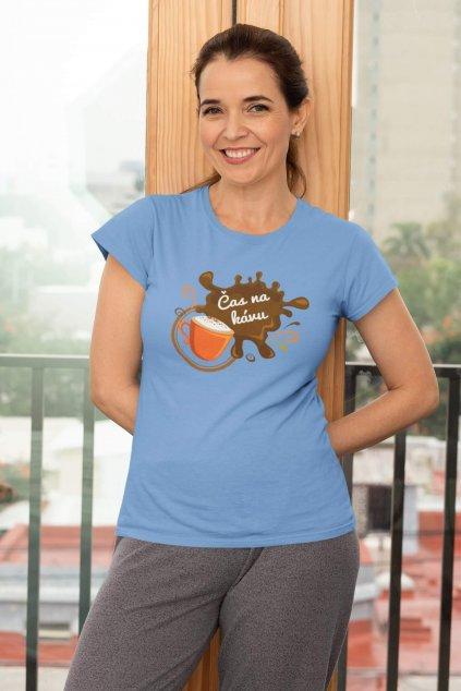 Dámske tričko Čas na kávu