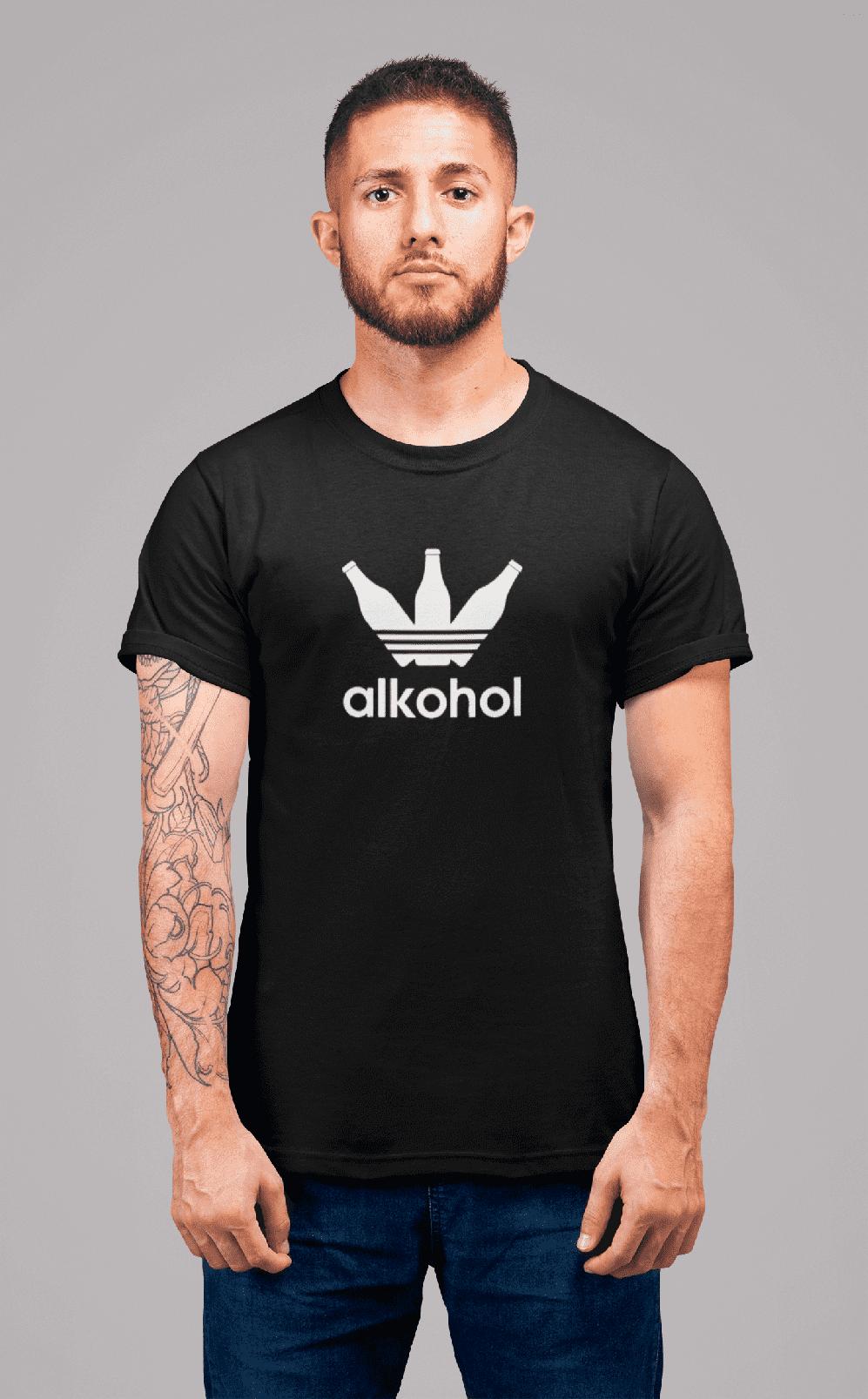 MMO Pánske tričko s Flaškami Vyberte farbu: Čierna, Pánska veľkosť: S