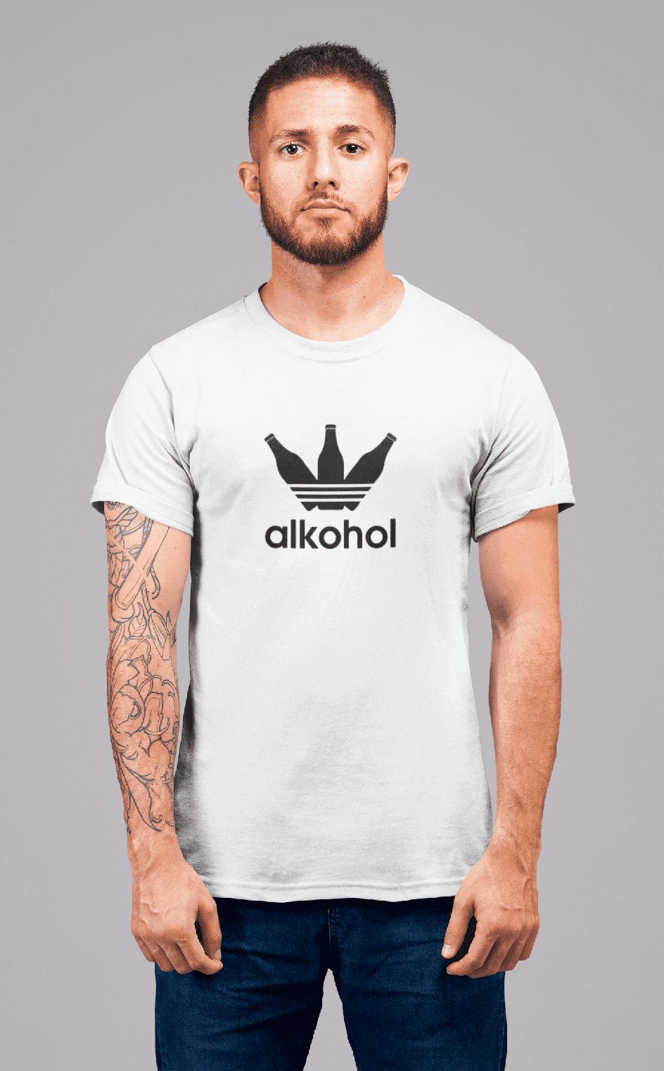 MMO Pánske tričko s Flaškami Vyberte farbu: Biela, Pánska veľkosť: S