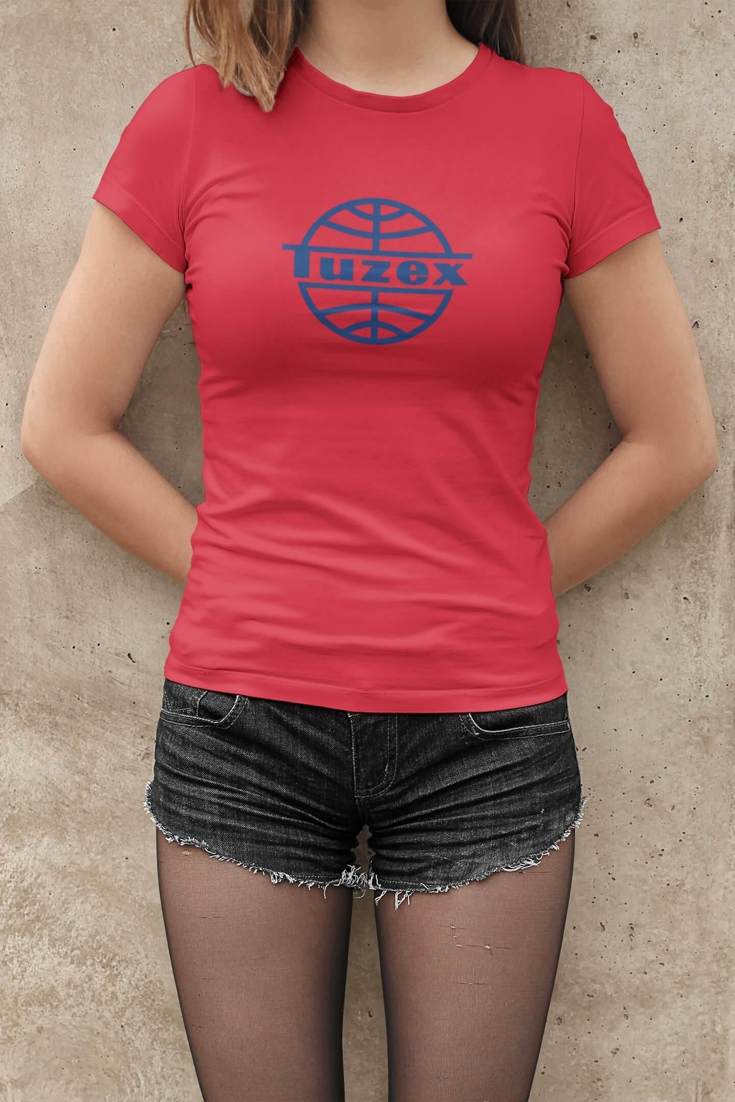 MMO Dámske tričko TUZEX Vyberte farbu: Červená, Dámska veľkosť: M