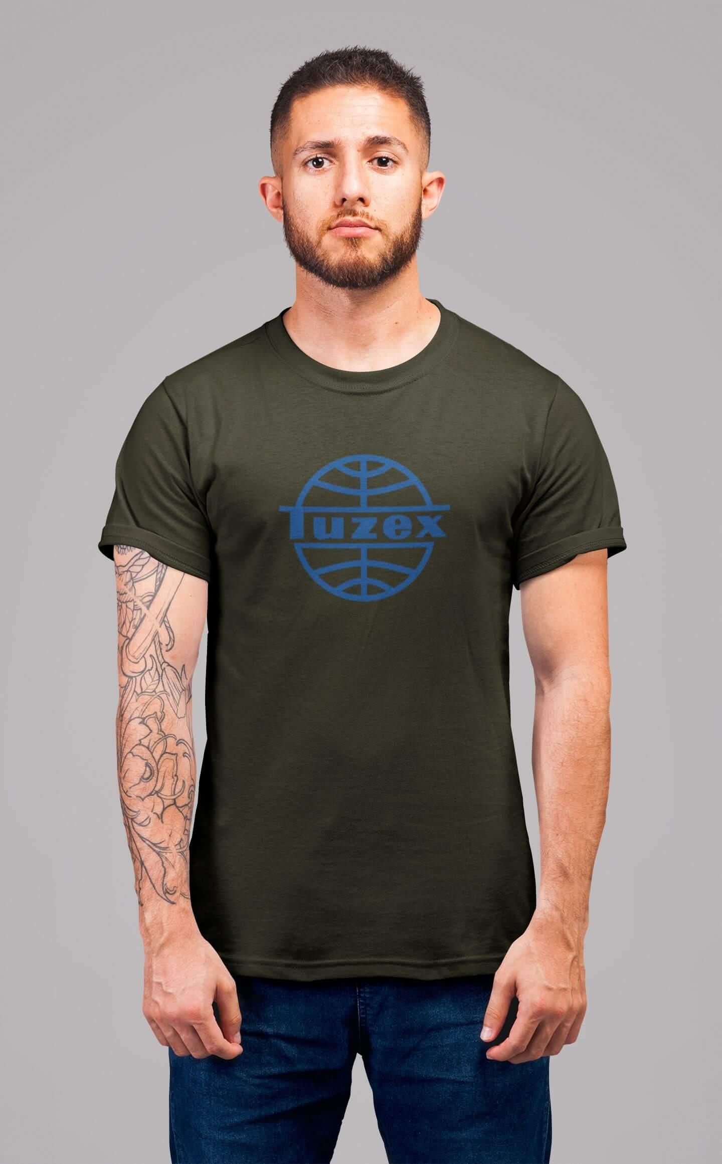 MMO Pánske tričko TUZEX Vyberte farbu: Military, Vyberte veľkosť: XS
