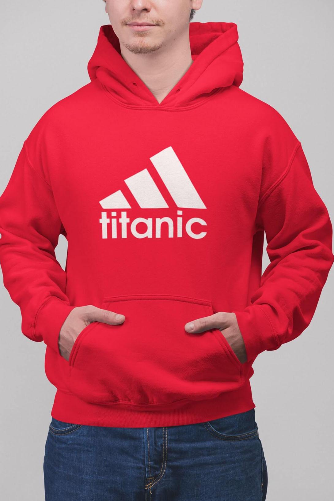 MMO Pánska mikina Titanic Farba: Čierna, Vyberte farbu:: 2XL