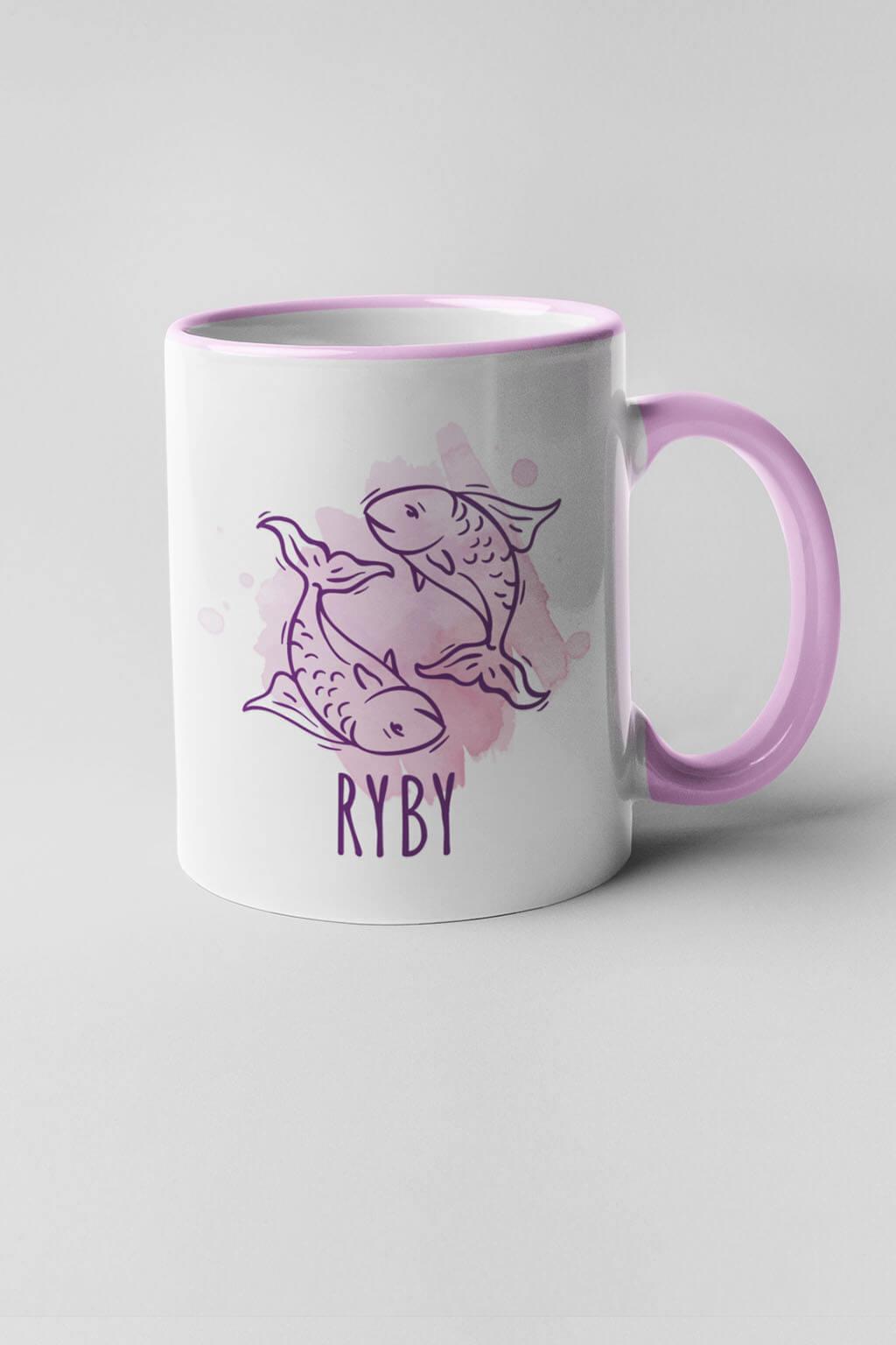 MMO Šálka so znamením Ryby Farba šálky: Ružová