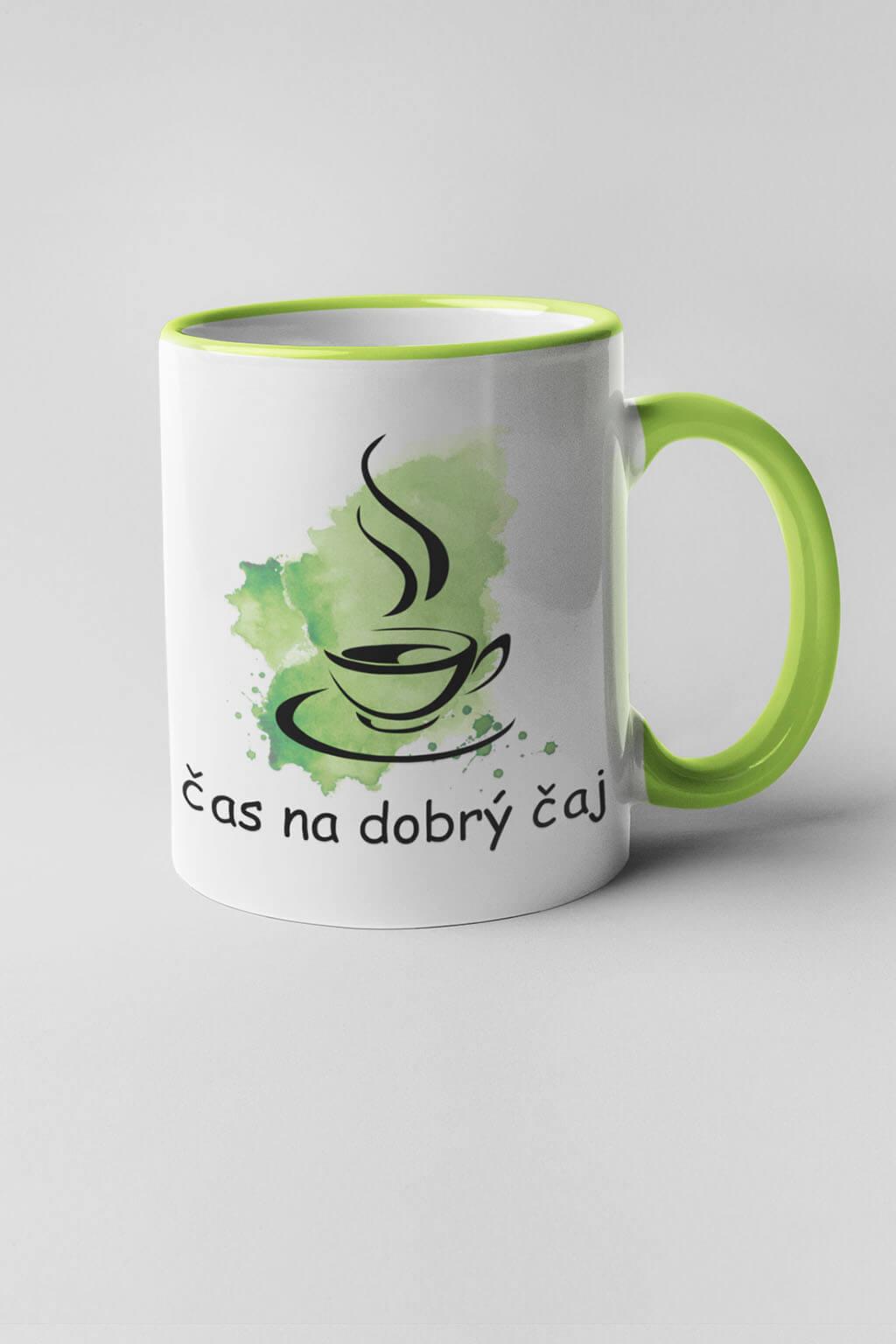 MMO Šálka čas na dobrý čaj Farba šálky: Zelená