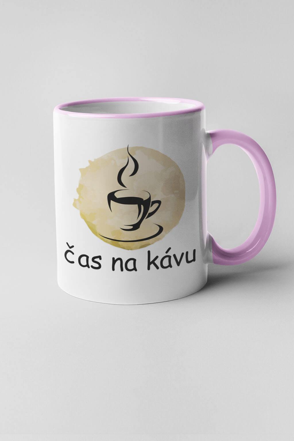 MMO Šálka čas na kávu Farba šálky: Ružová