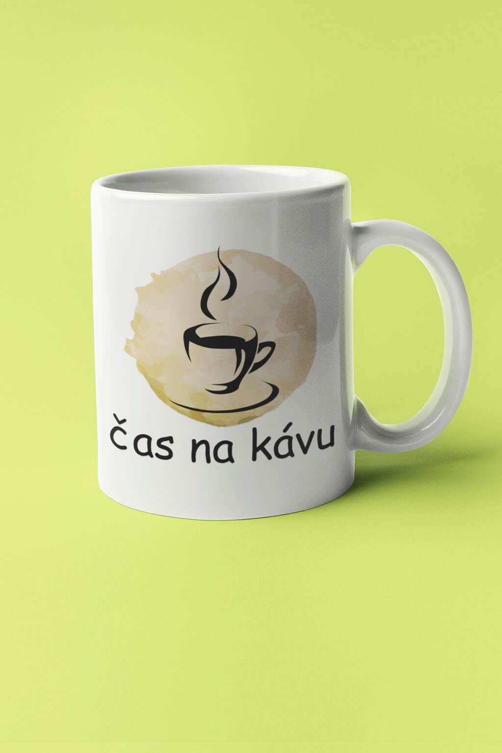 MMO Šálka čas na kávu Farba šálky: Biela