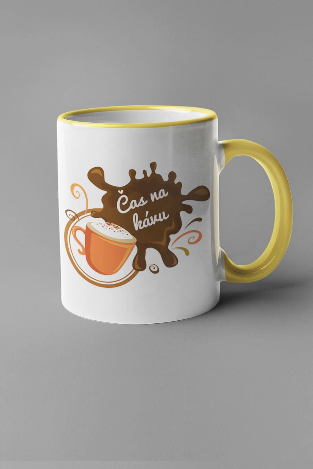 MMO Šálka čas na kávu Farba šálky: Žltá