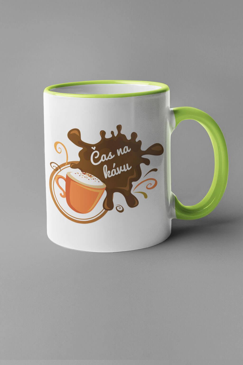 MMO Šálka čas na kávu Farba šálky: Zelená