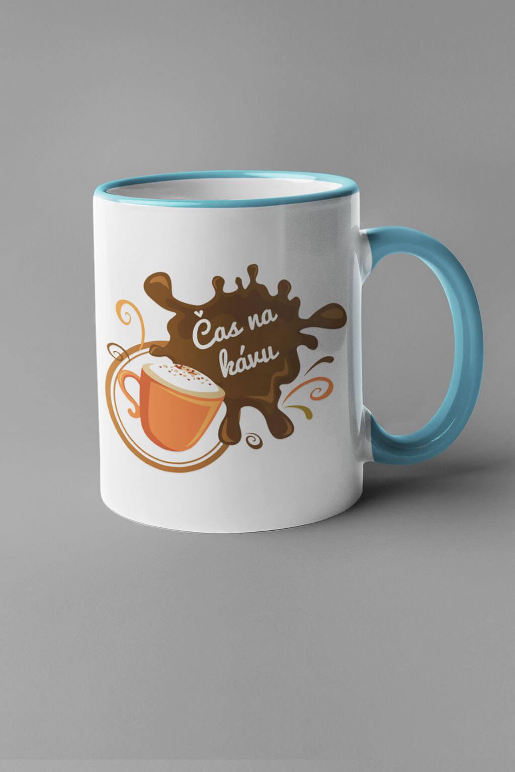 MMO Šálka čas na kávu Farba šálky: Modrá