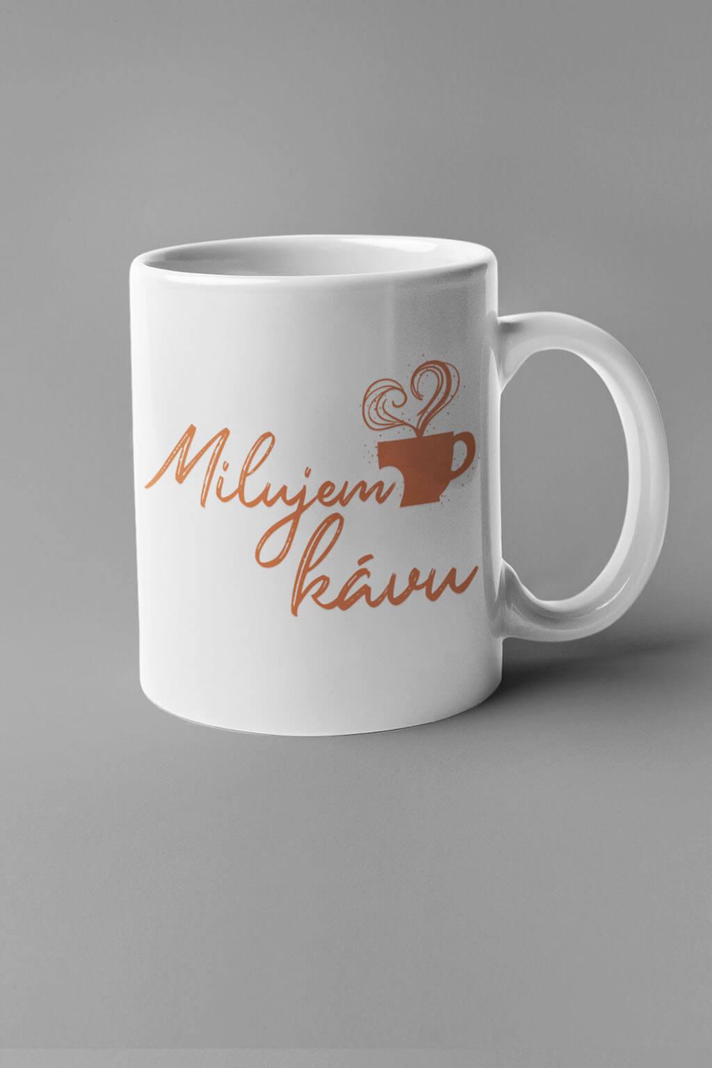 MMO Šálka milujem kávu Farba šálky: Biela