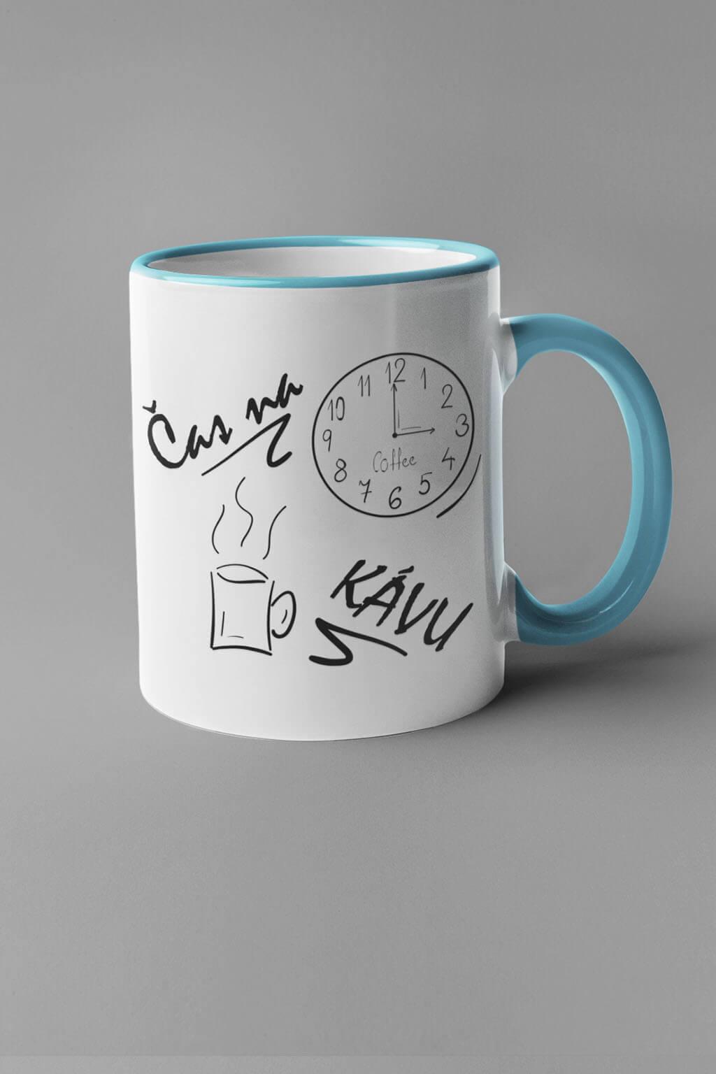 MMO Šálka je čas na kávu Farba šálky: Modrá
