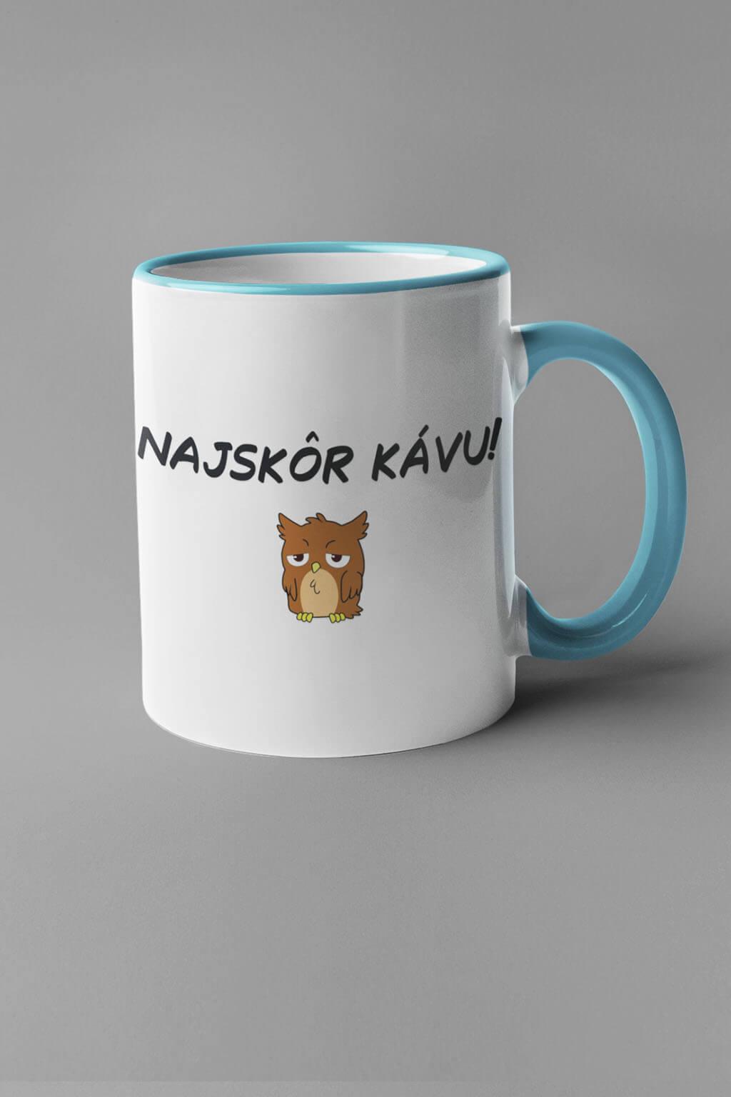 MMO Šálka najskôr kávu Farba šálky: Modrá