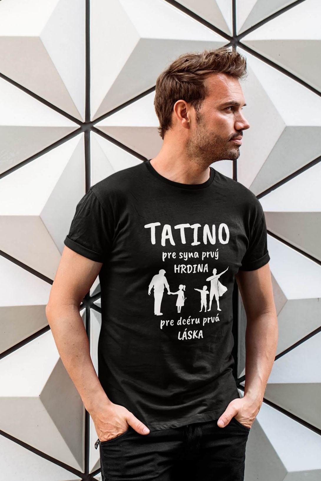 MMO Pánske tričko Tatino Vyberte farbu: Military, Vyberte veľkosť: XS