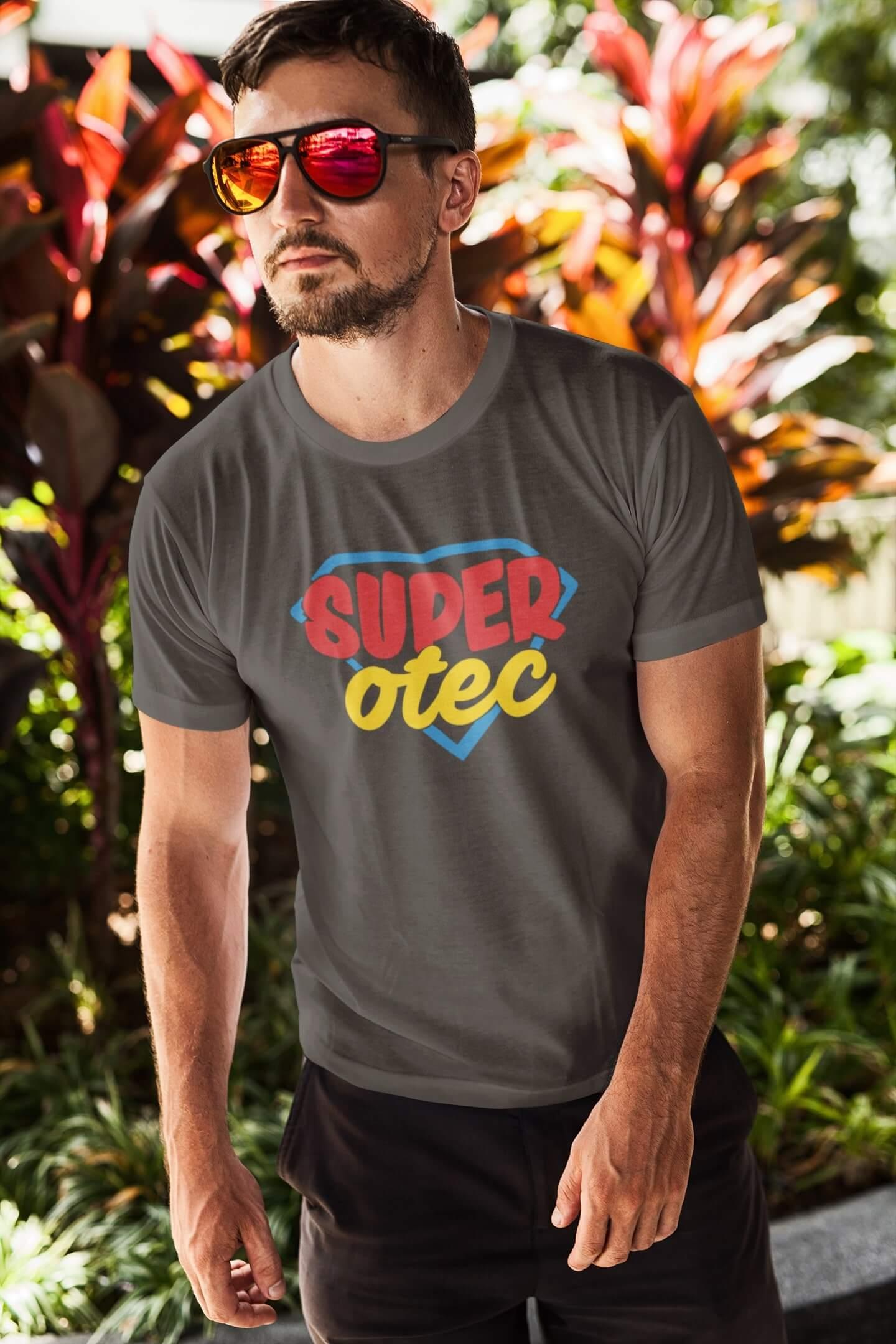 MMO Pánske tričko Superotec Vyberte farbu: Tmavá bridlica, Vyberte veľkosť: XL