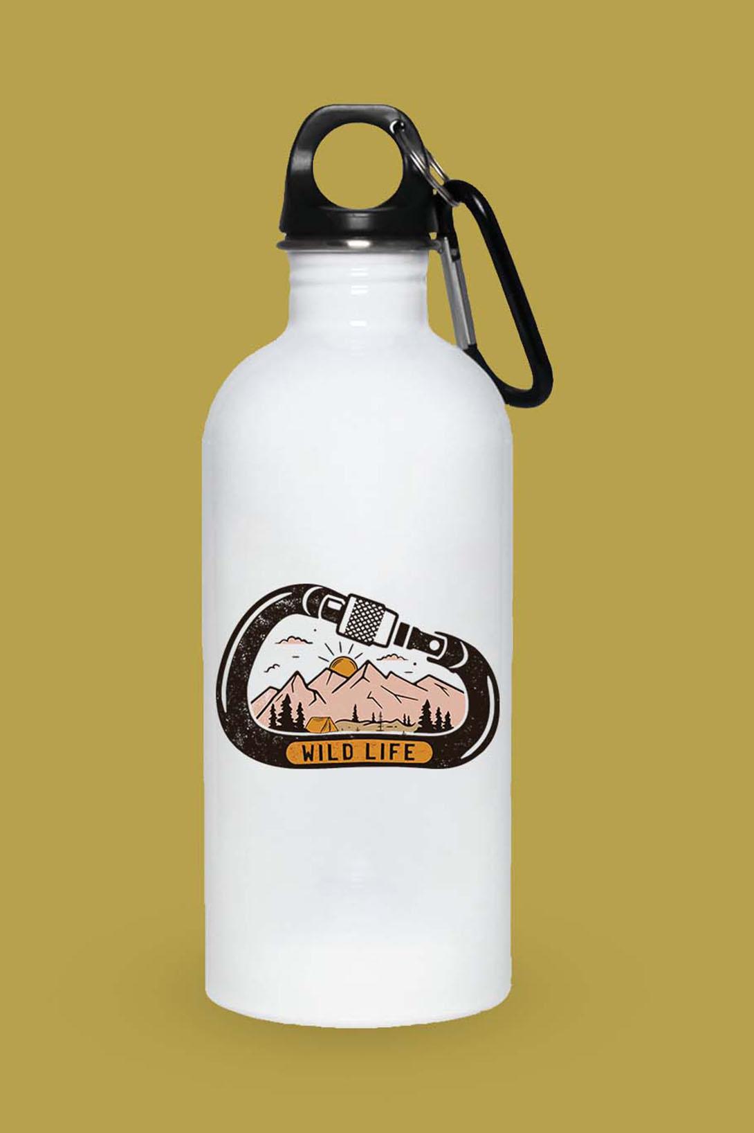 MMO Turistická fľaška Wild Life Objem fľaše: 400 ml