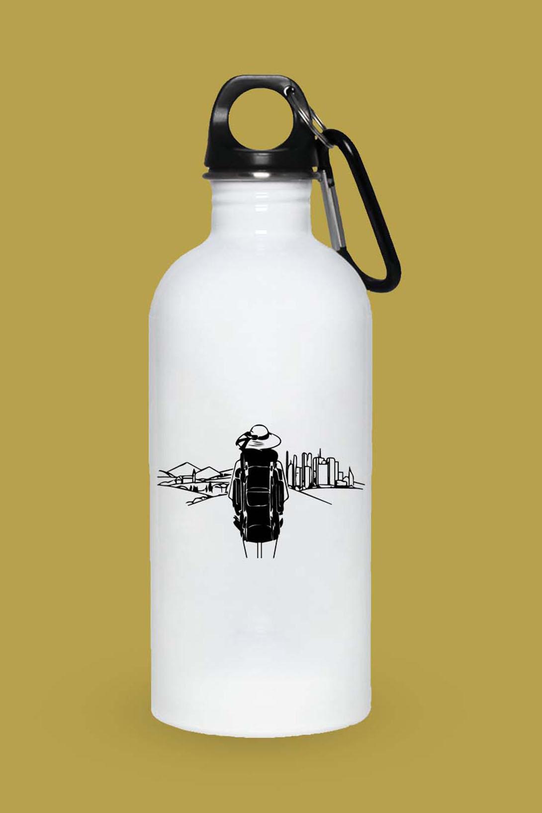 MMO Turistická fľaška Na cestách Objem fľaše: 400 ml