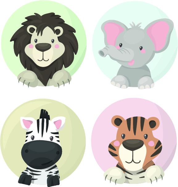 MMO Nažehlovačky Safari zvieratká