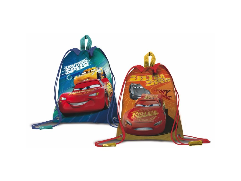 Vak na záda CARS 51332 ORANGE