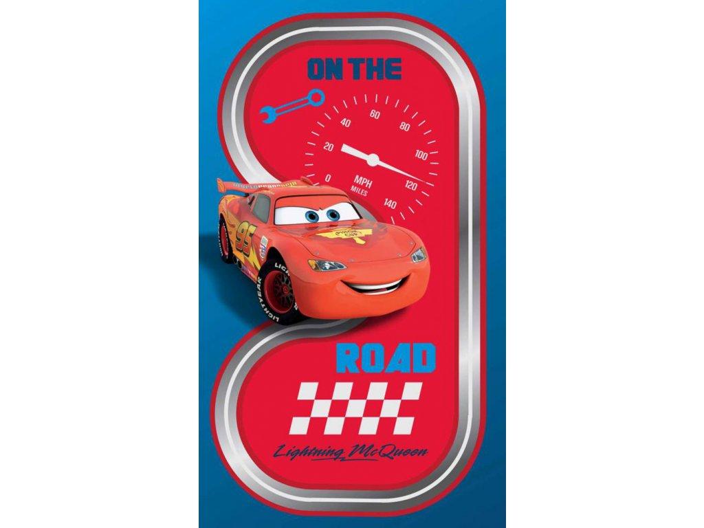 CTI DĚTSKÁ OSUŠKA CARS ROAD 70x120 cm