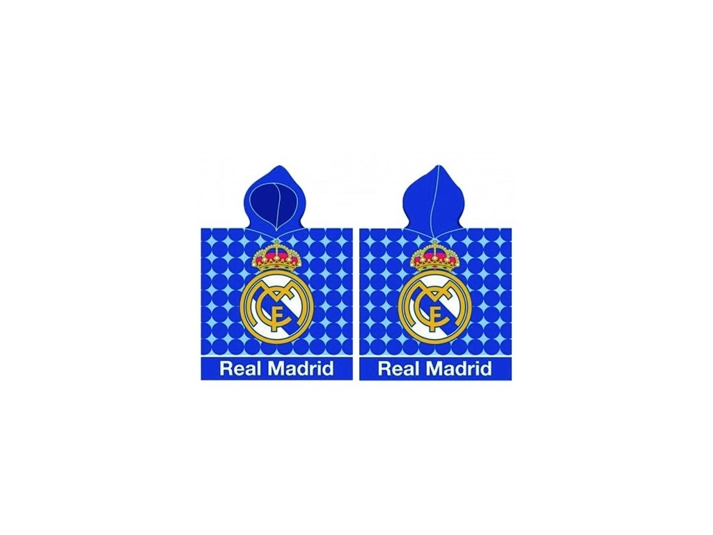 DĚTSKÉ PONČO REAL MADRID 171173