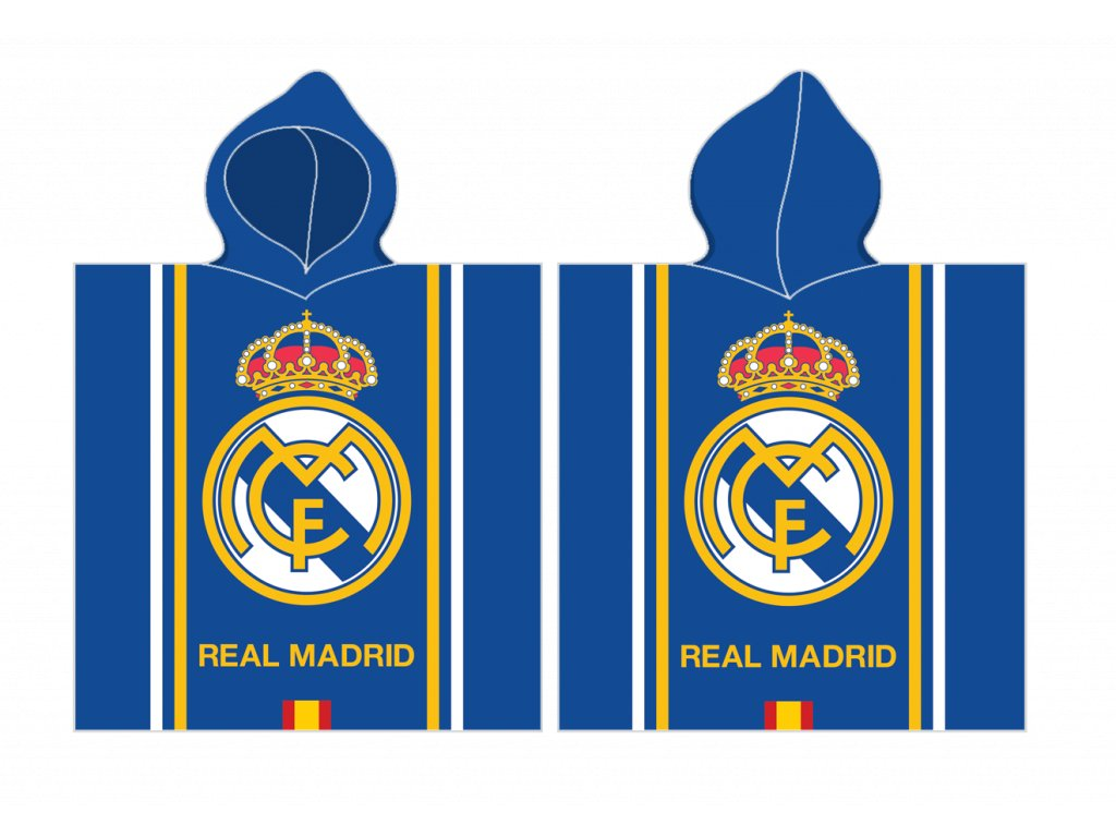 DĚTSKÉ PONČO REAL MADRID 171174
